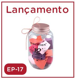 Lançamento EP17 Com 12 Esponjas